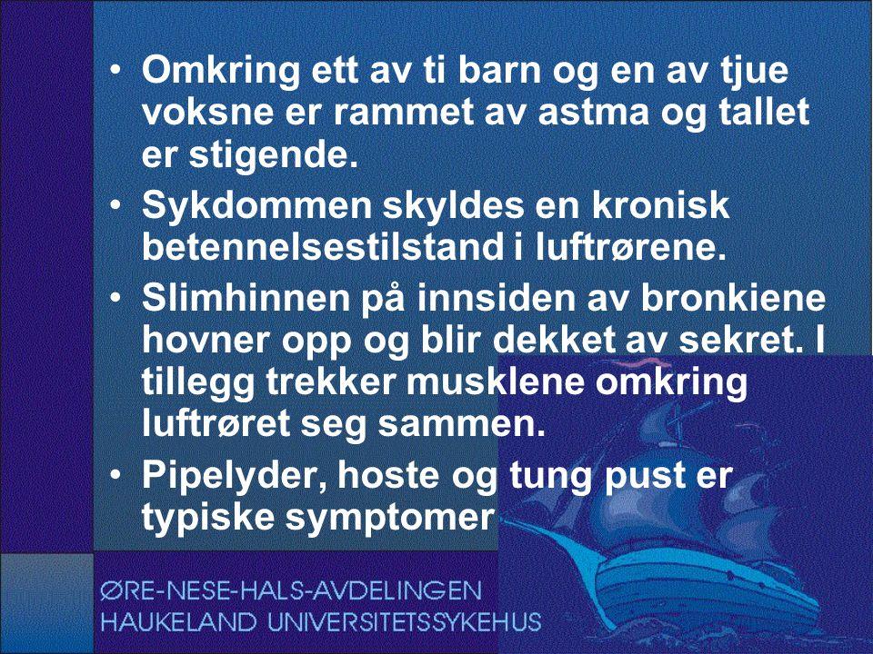 unngå astmaanfall barn