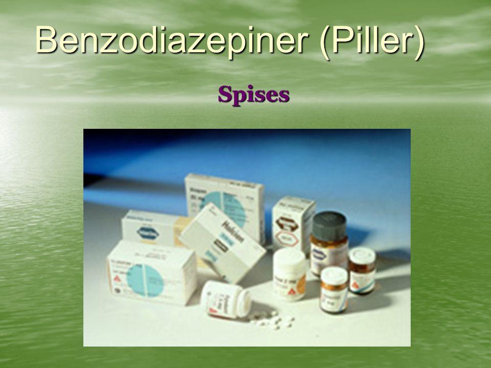 Benzodiazepiner (Piller)