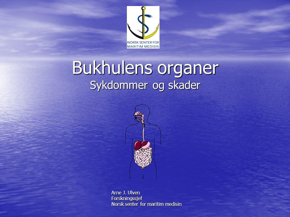 Bukhulens organer Sykdommer og skader