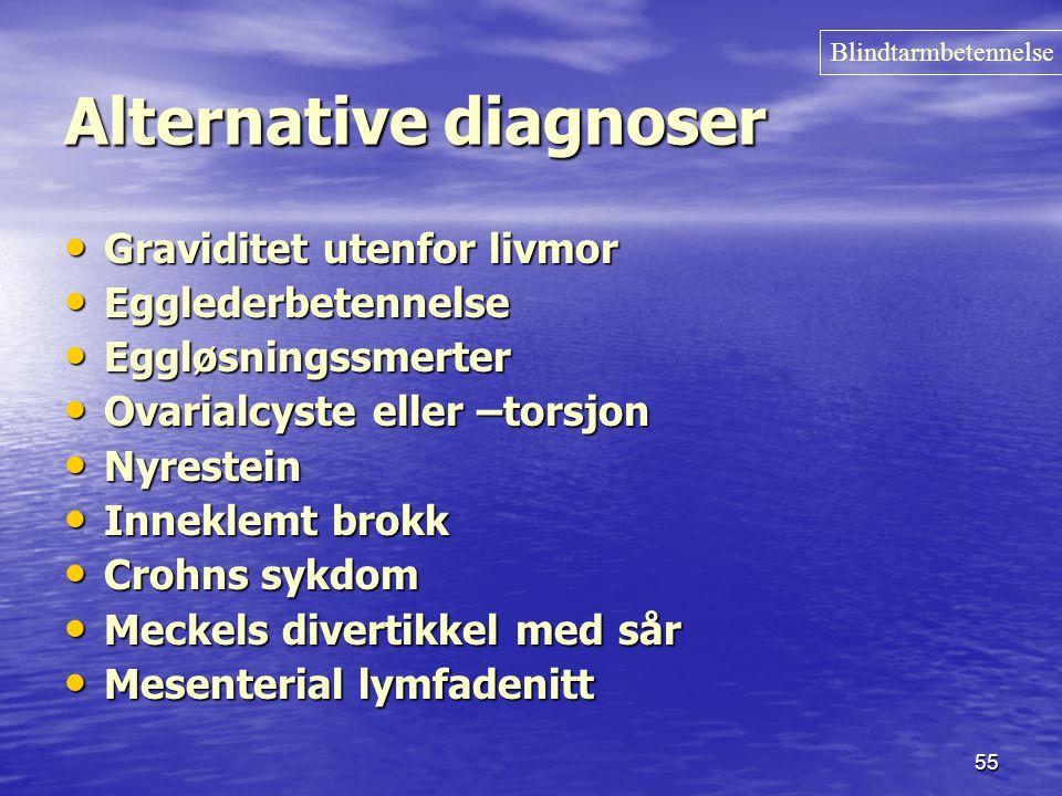Alternative diagnoser