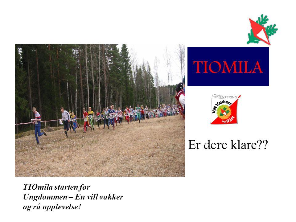 TIOMILA Er dere klare TIOmila starten for Ungdommen – En vill vakker og rå opplevelse!