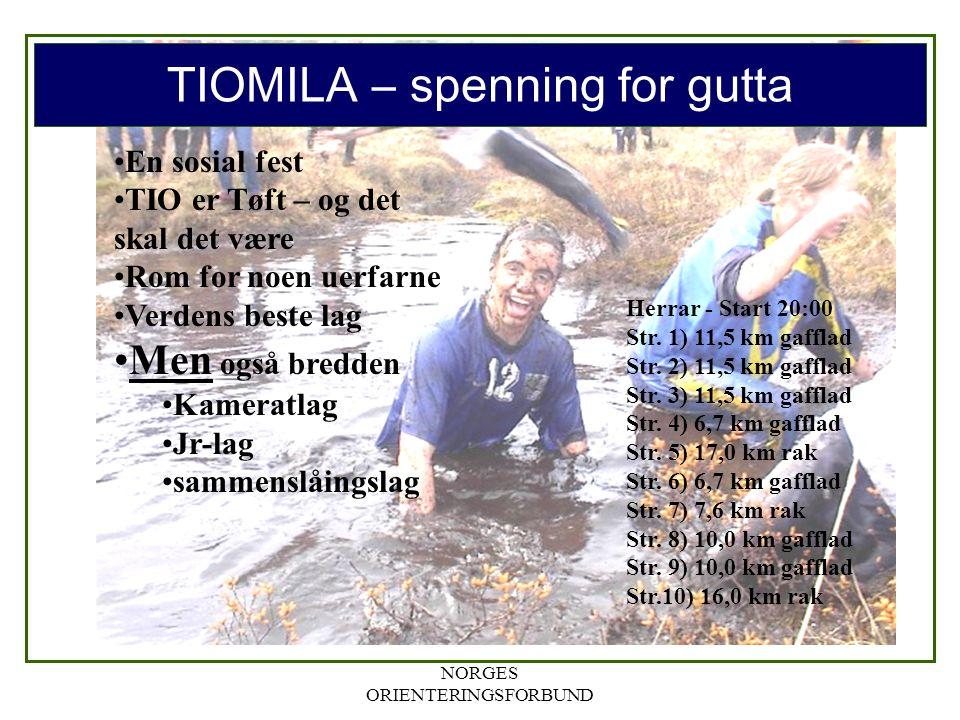 TIOMILA – spenning for gutta