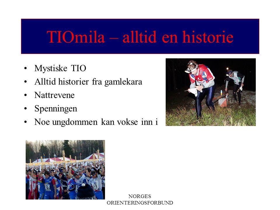 TIOmila – alltid en historie