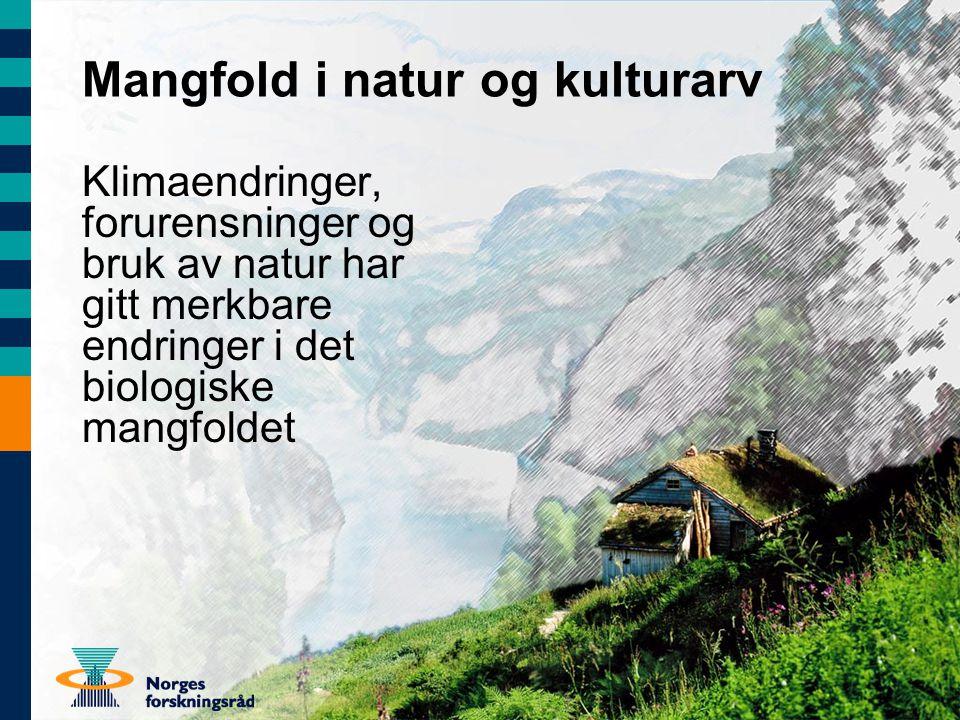 Mangfold i natur og kulturarv