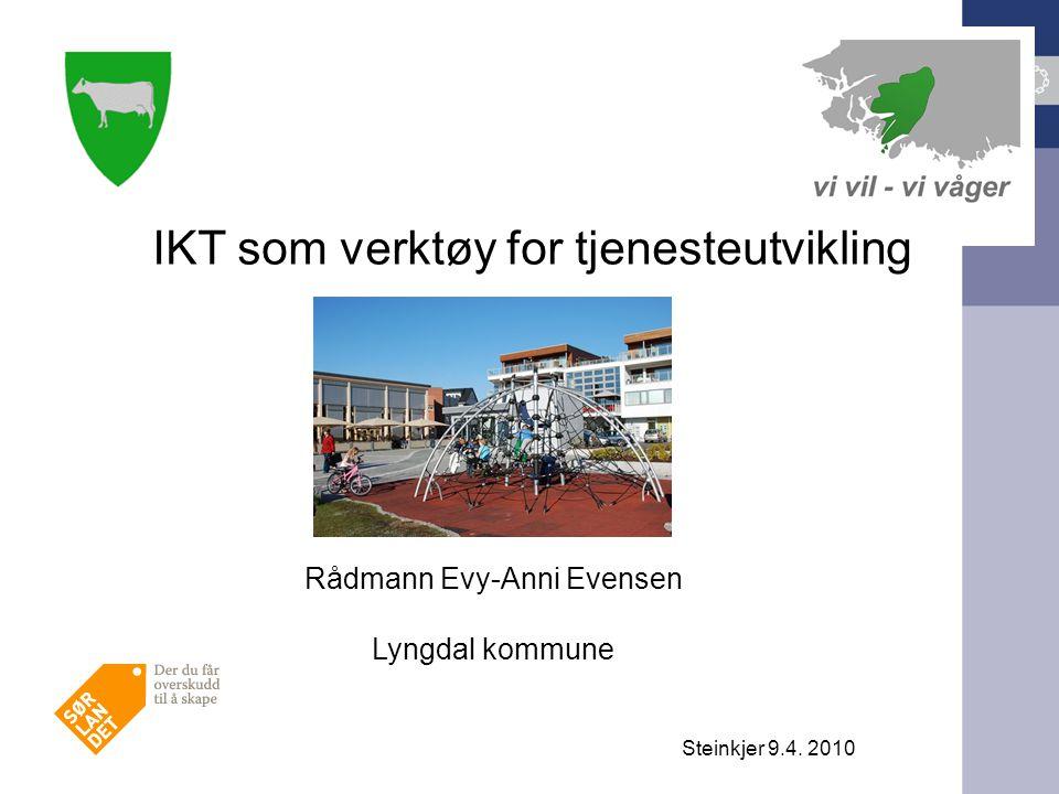 IKT som verktøy for tjenesteutvikling