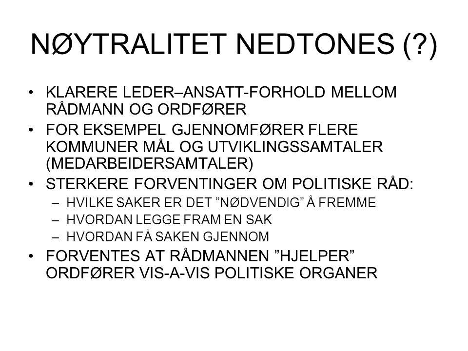 NØYTRALITET NEDTONES ( )