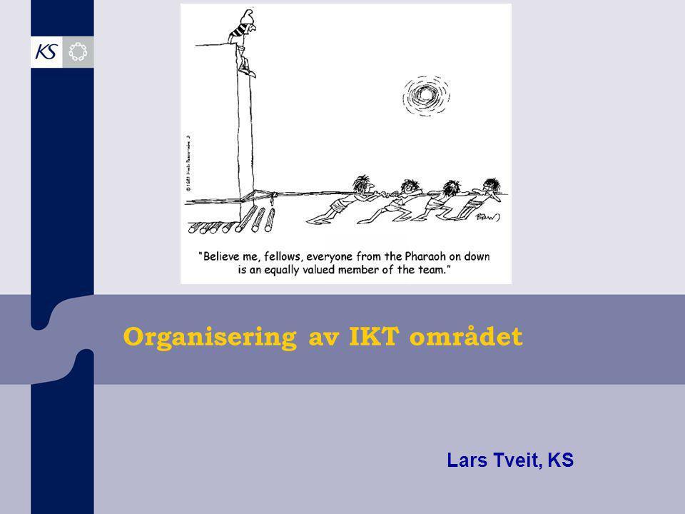 Organisering av IKT området