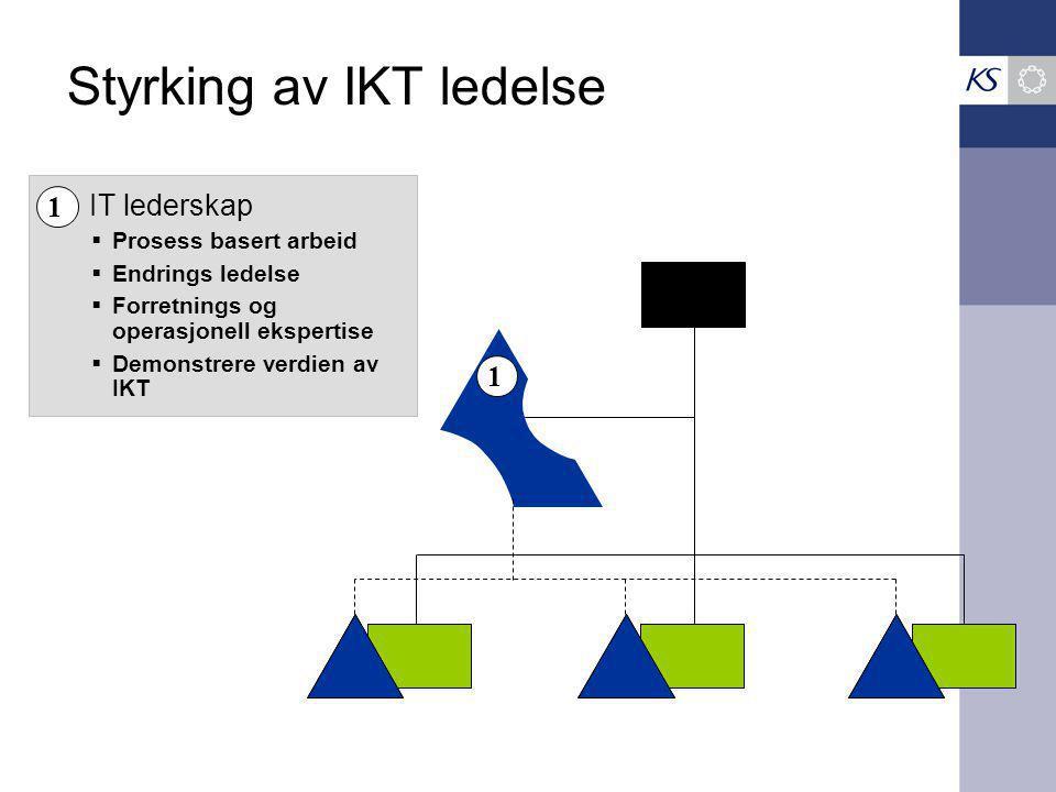 Styrking av IKT ledelse