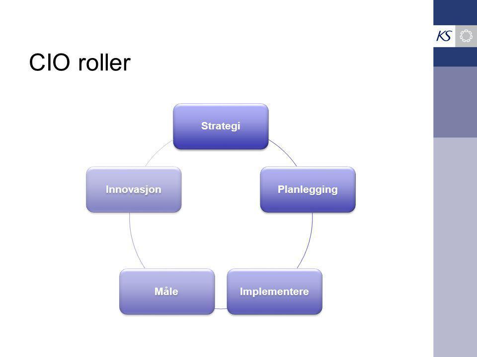 CIO roller Strategi Planlegging Implementere Måle Innovasjon