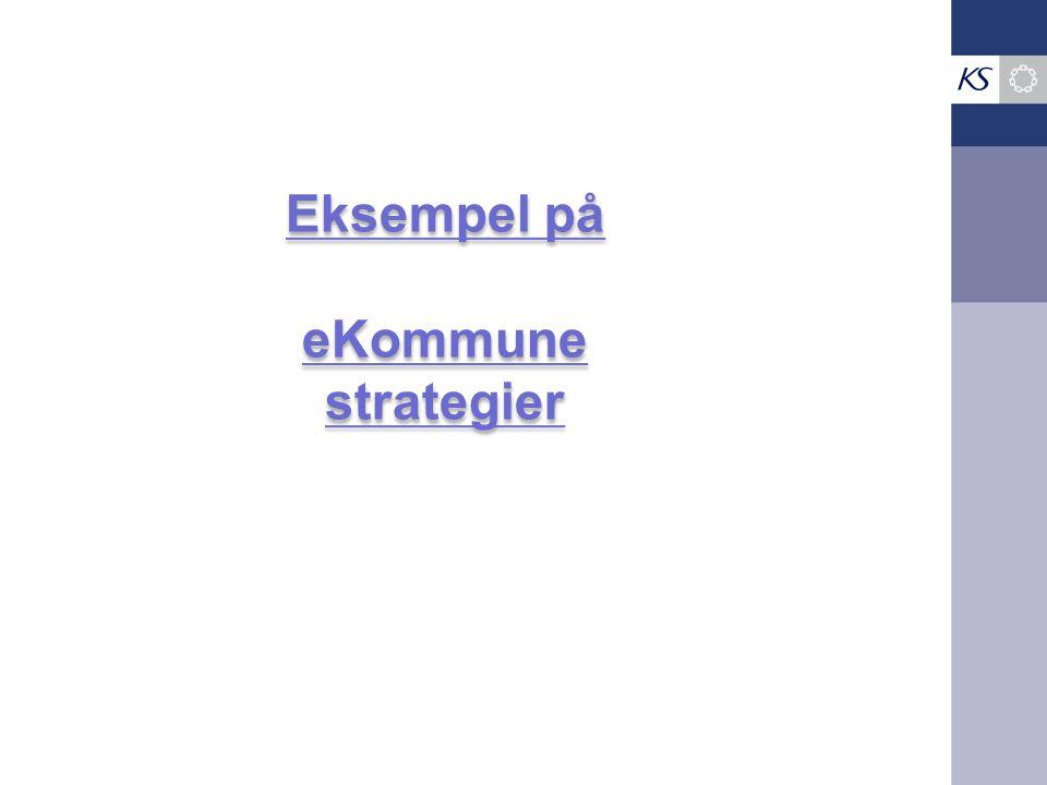 Eksempel på eKommune strategier