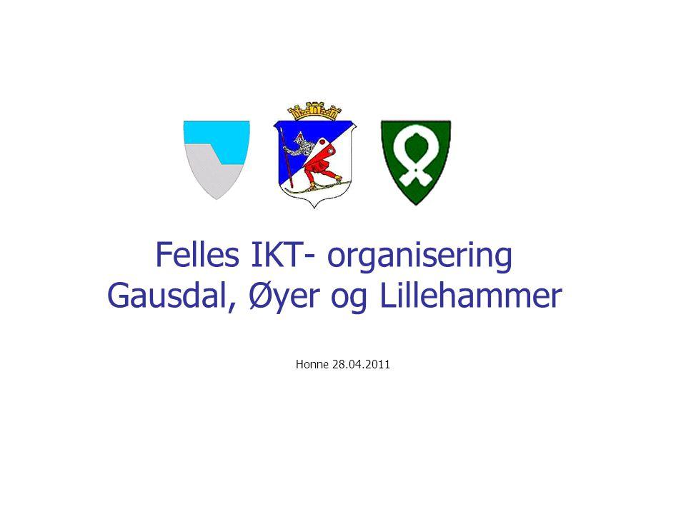 Felles IKT- organisering Gausdal, Øyer og Lillehammer