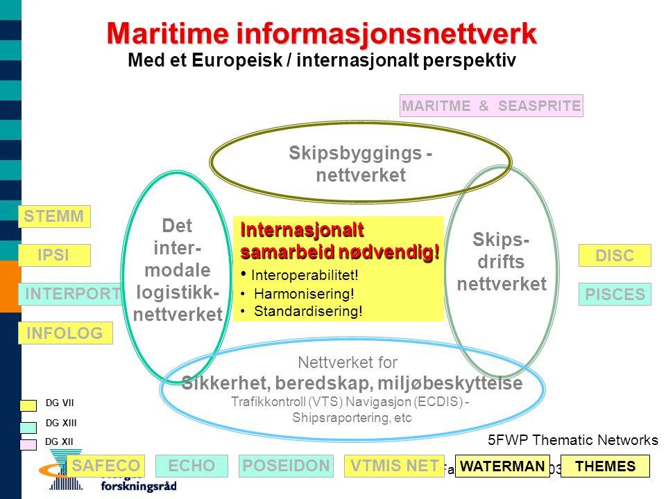 Maritime informasjonsnettverk