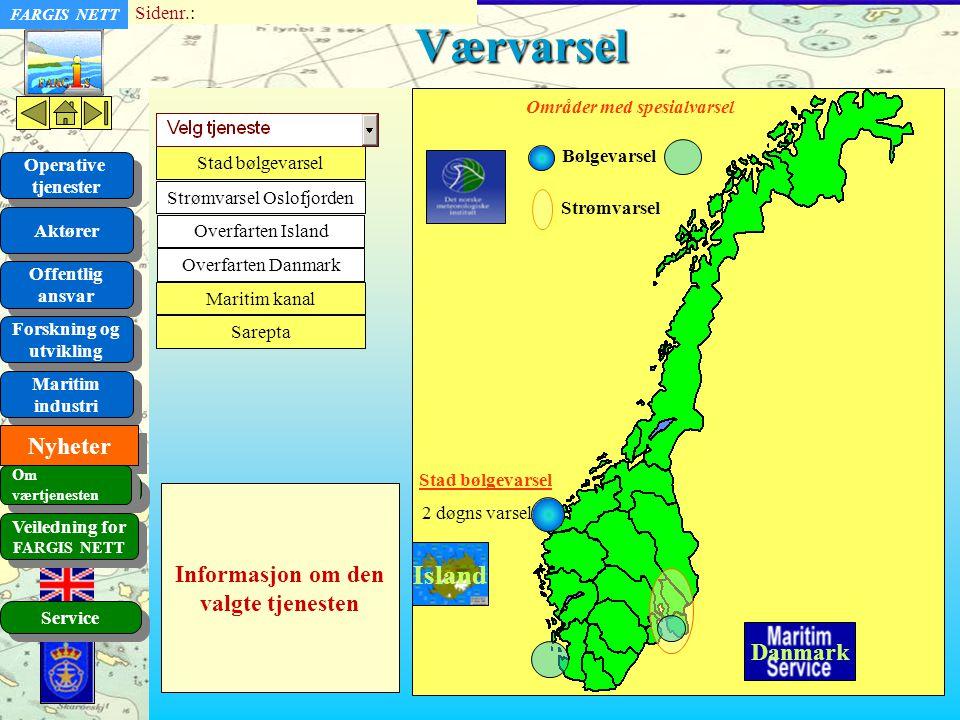 Strømvarsel Oslofjorden
