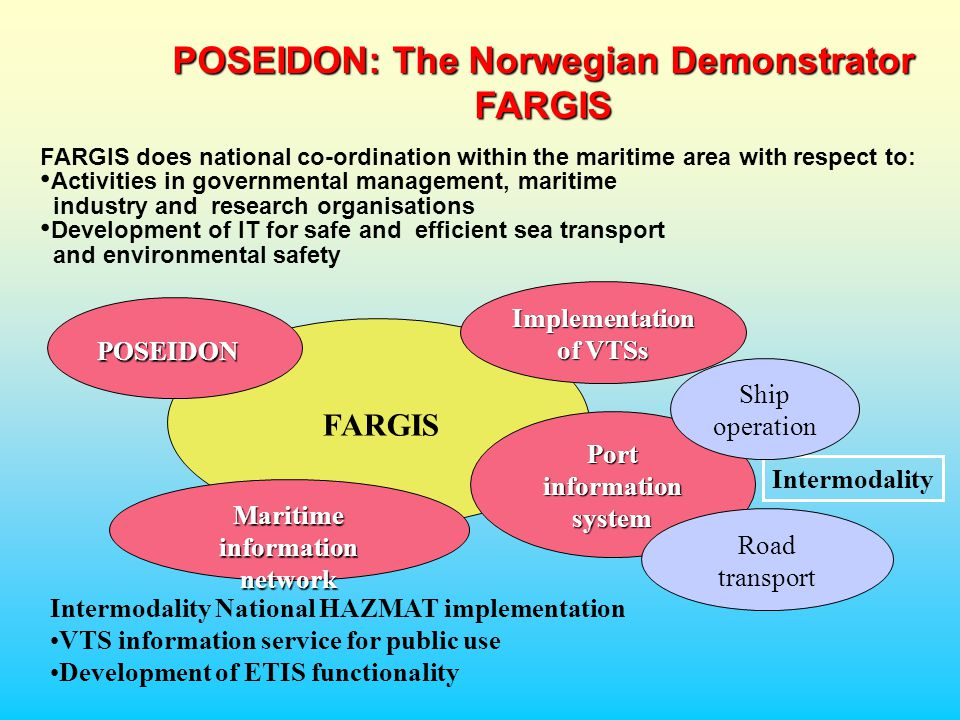 POSEIDON: The Norwegian Demonstrator FARGIS