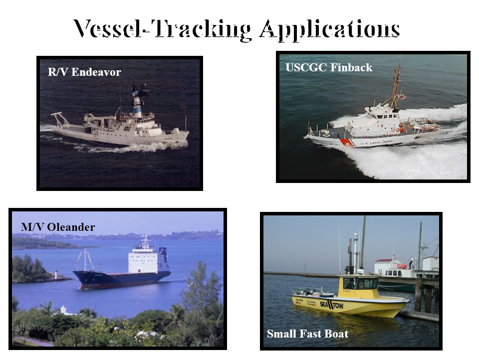 Vessel-Tracking Applications Vessel-Tracking Applications