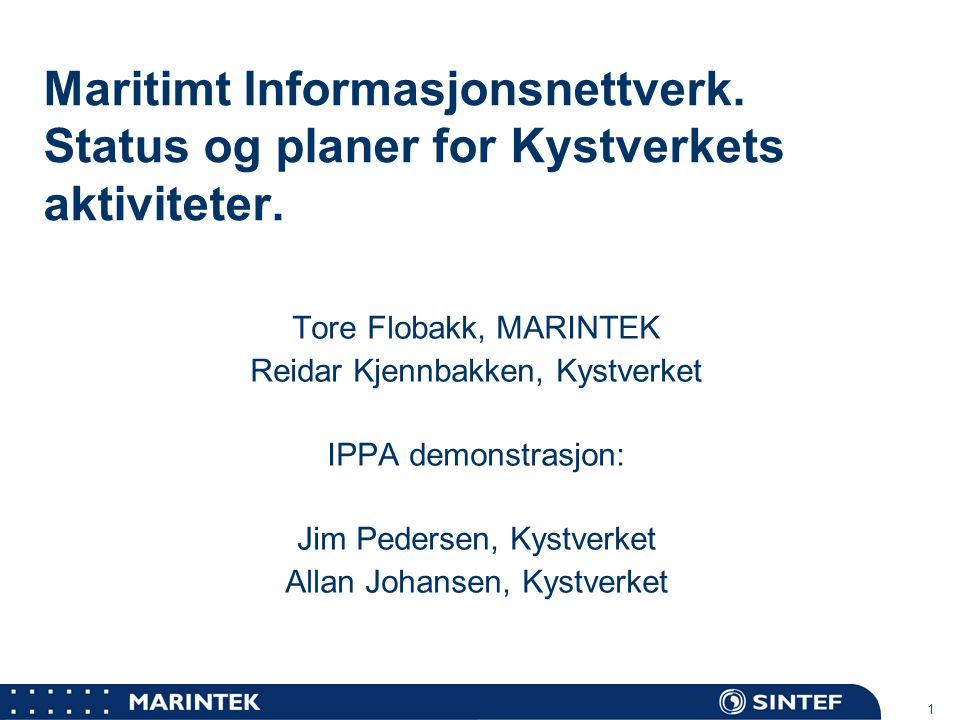 Maritimt Informasjonsnettverk