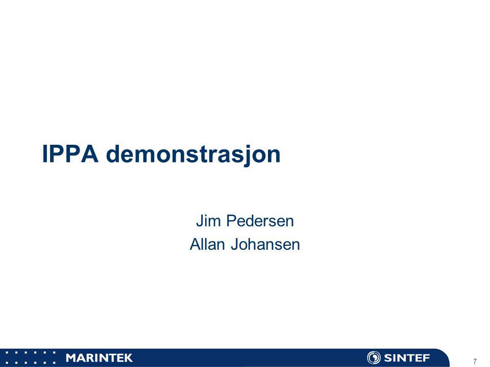 Jim Pedersen Allan Johansen