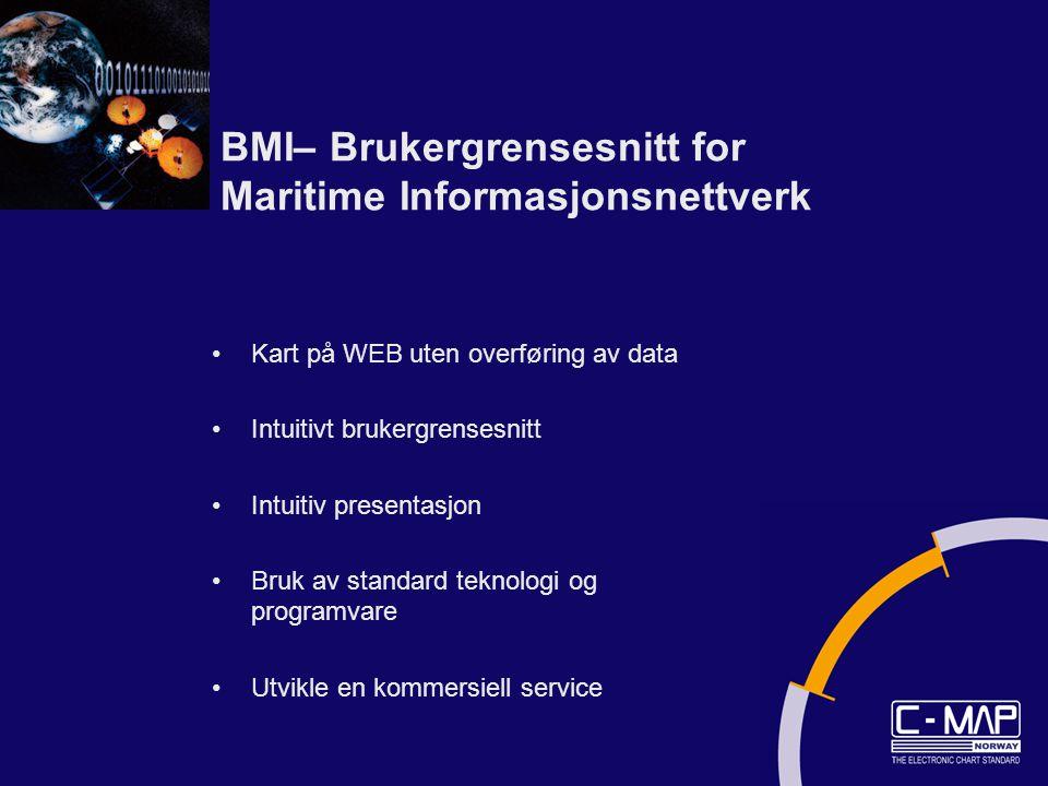 BMI– Brukergrensesnitt for Maritime Informasjonsnettverk