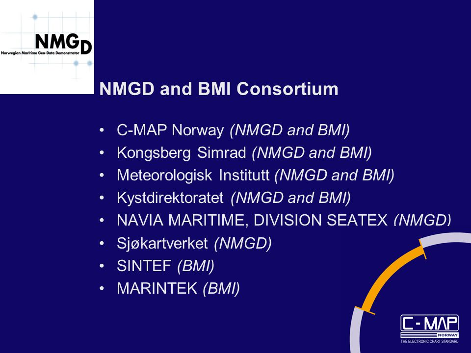 NMGD and BMI Consortium