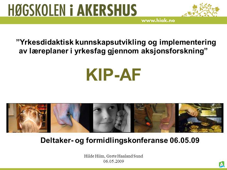 Yrkesdidaktisk kunnskapsutvikling og implementering av læreplaner i yrkesfag gjennom aksjonsforskning