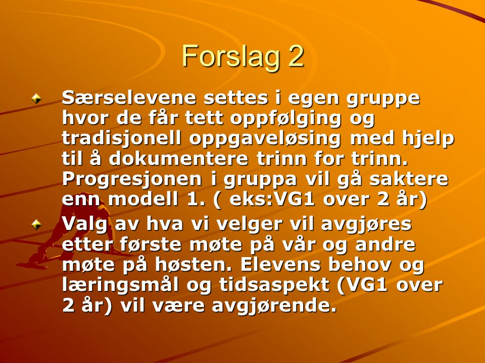 Forslag 2