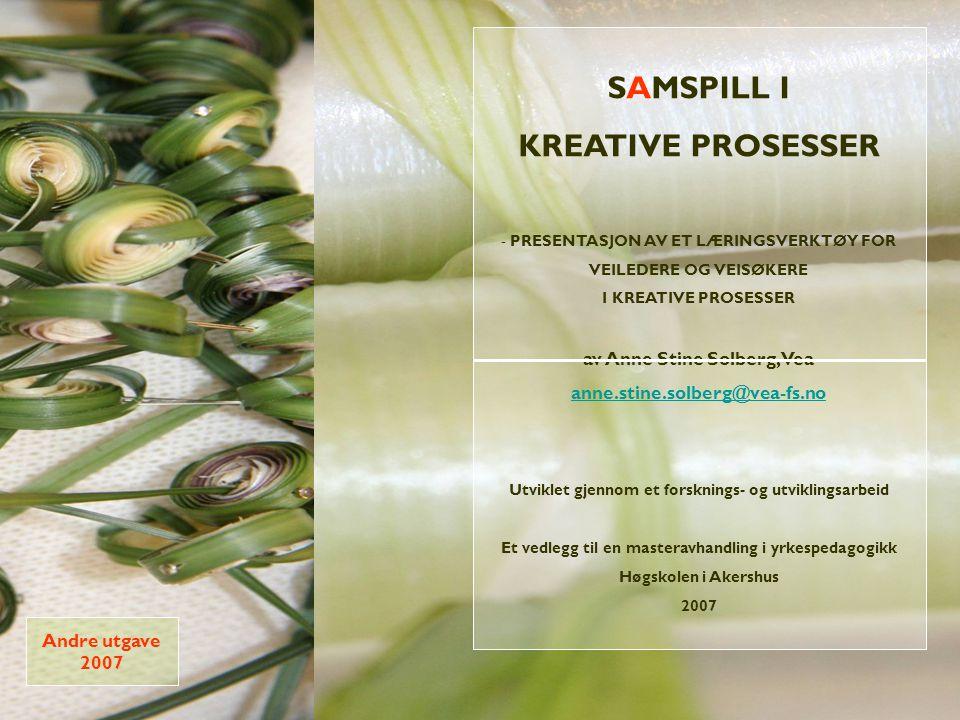 SAMSPILL I KREATIVE PROSESSER
