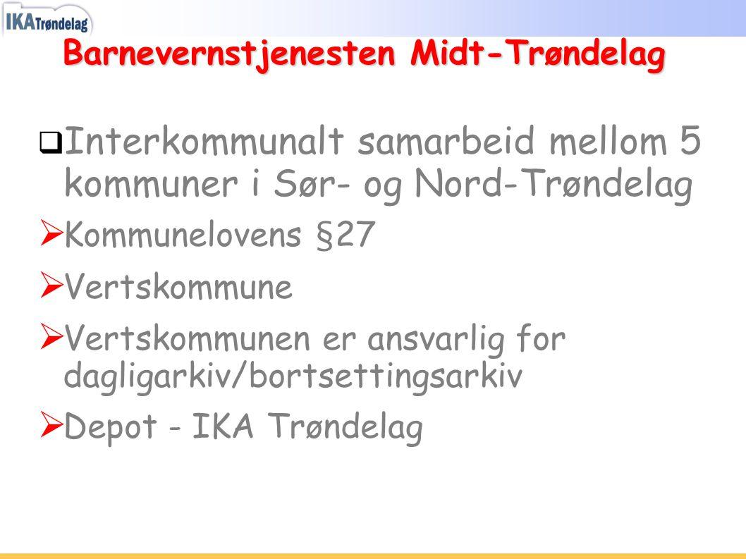 Barnevernstjenesten Midt-Trøndelag