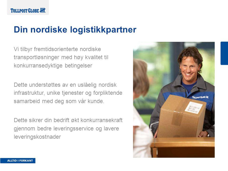 Din nordiske logistikkpartner