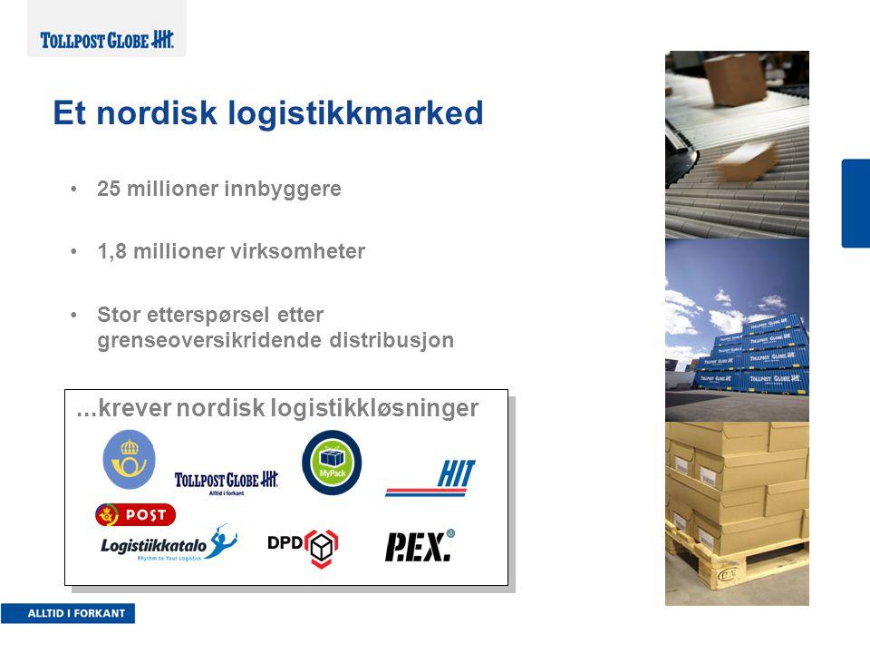 Et nordisk logistikkmarked