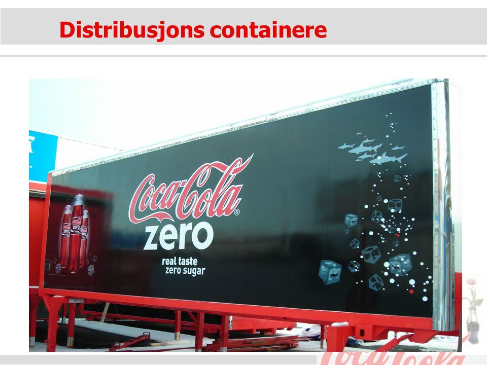 Distribusjons containere