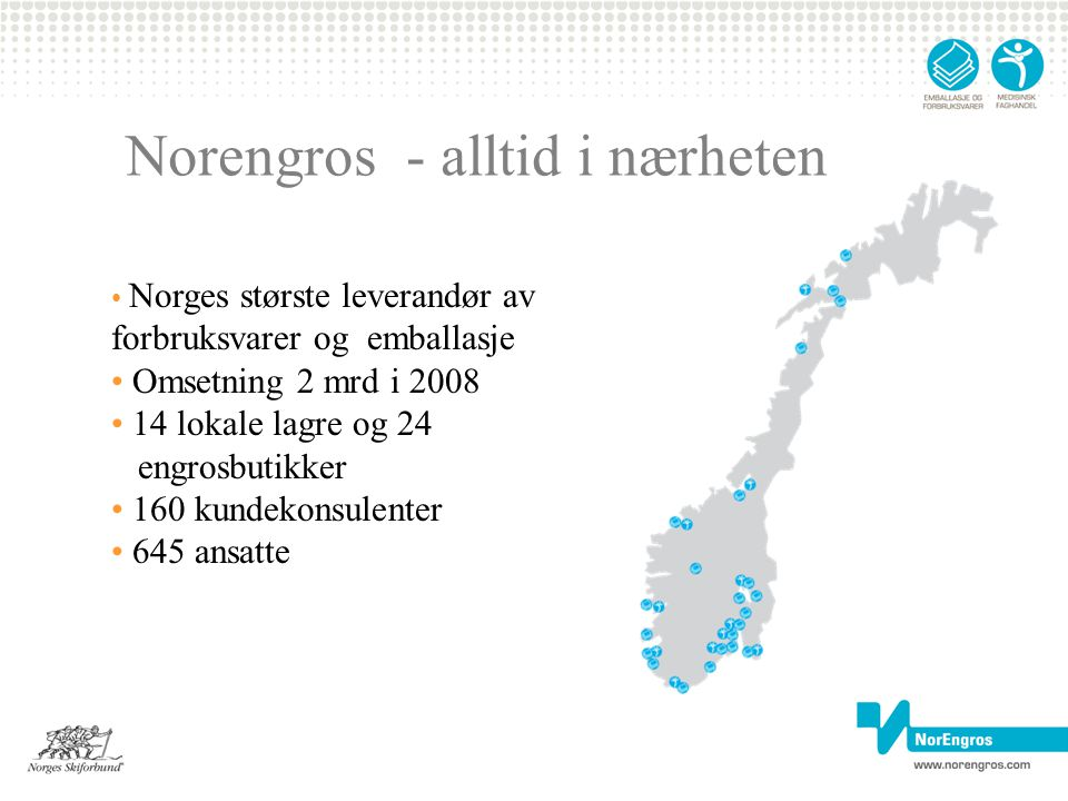 Norengros - alltid i nærheten