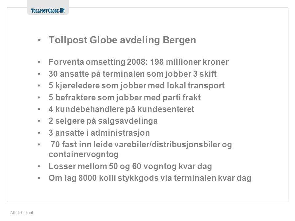 Tollpost Globe avdeling Bergen