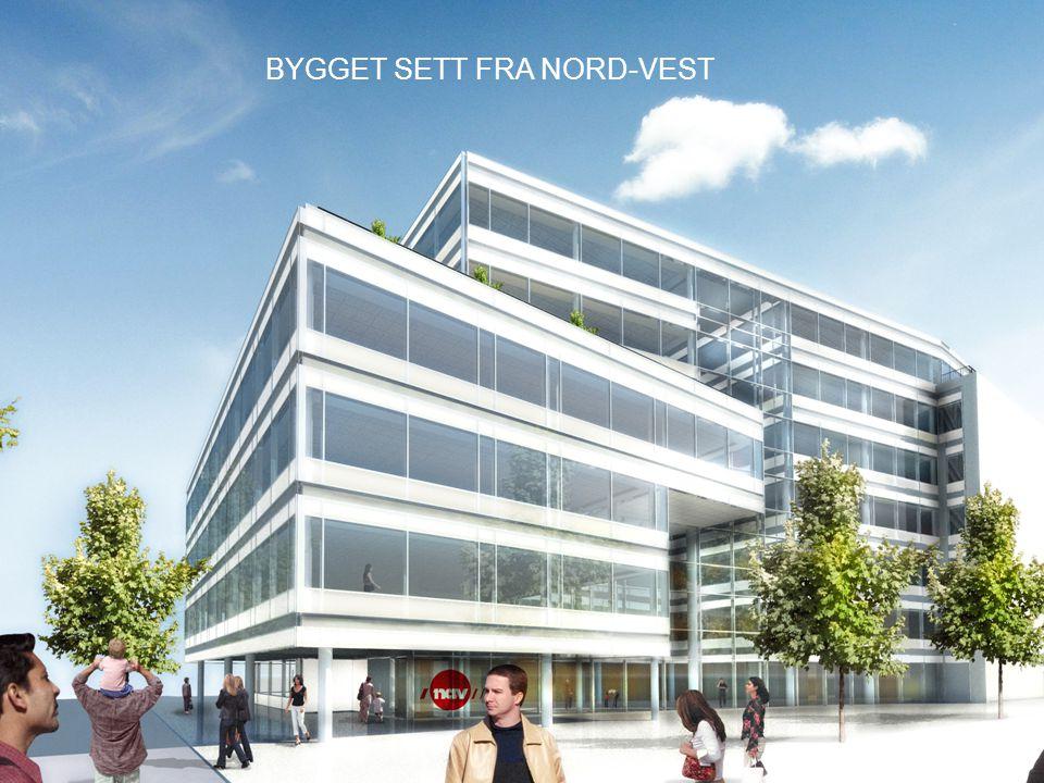 BYGGET SETT FRA NORD-VEST