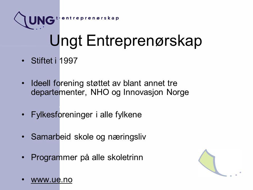Ungt Entreprenørskap Stiftet i 1997