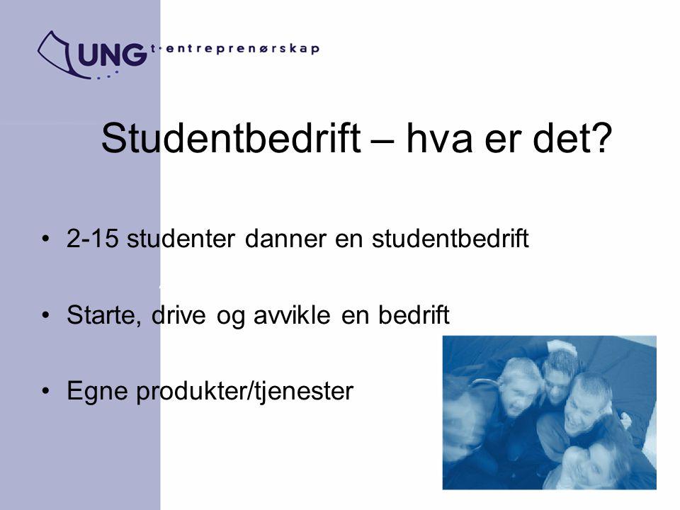 Studentbedrift – hva er det