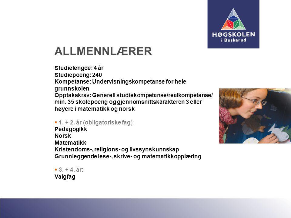 ALLMENNLÆRER