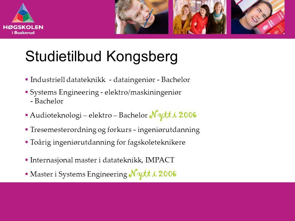 Studietilbud Kongsberg