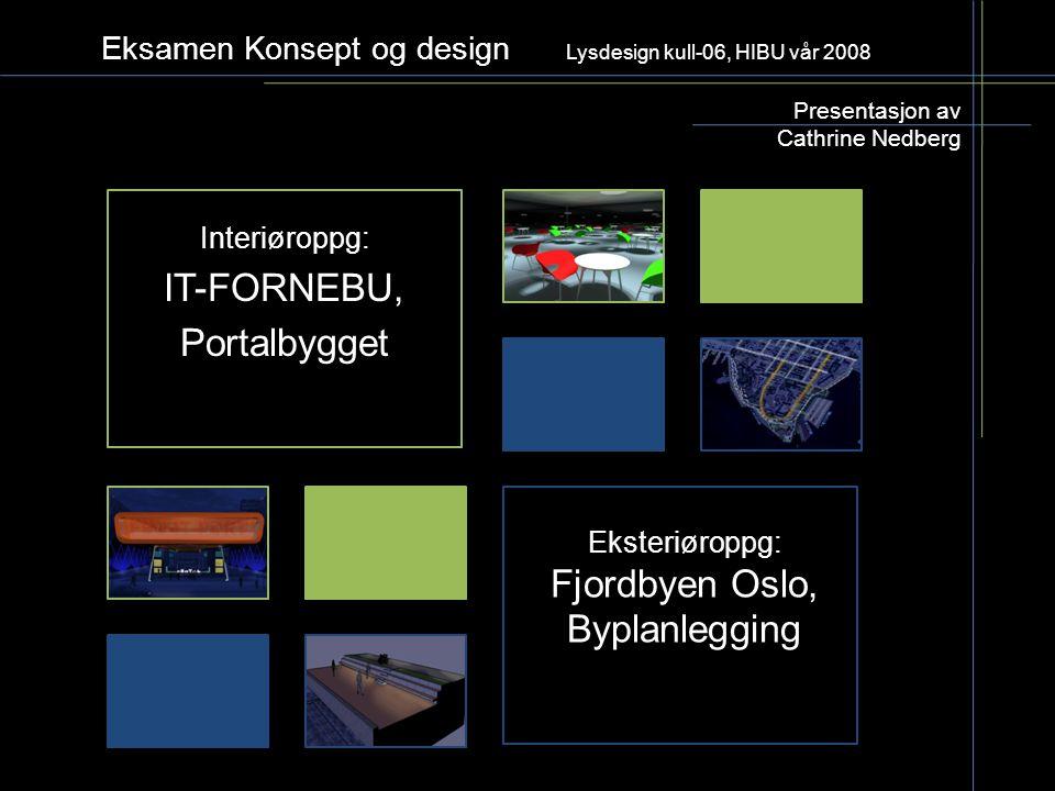 Eksamen Konsept og design Lysdesign kull-06, HIBU vår 2008
