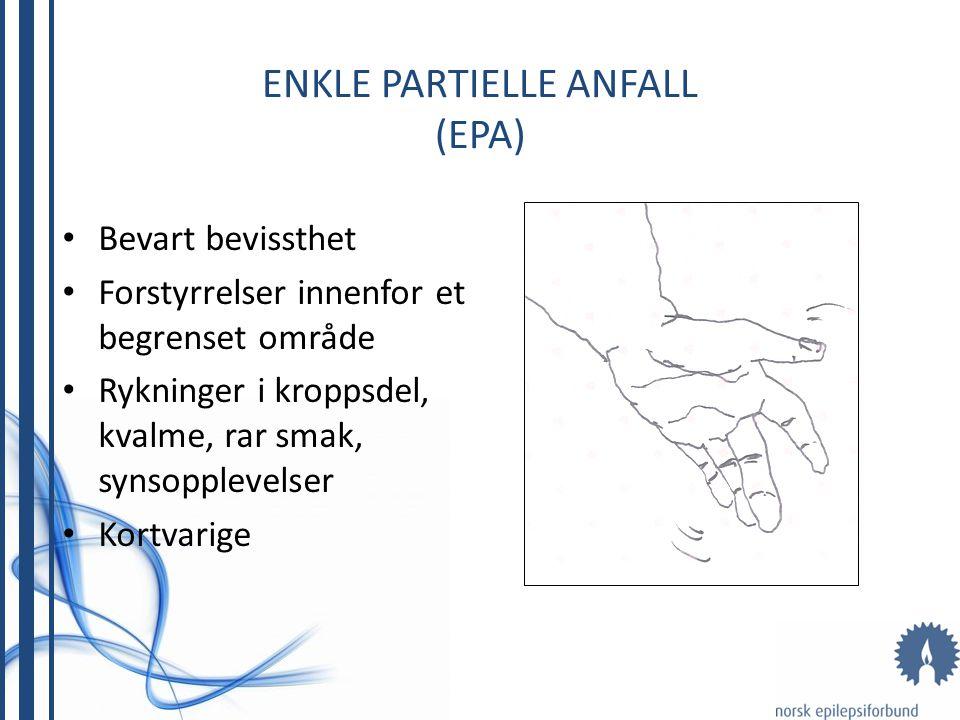 ENKLE PARTIELLE ANFALL (EPA)