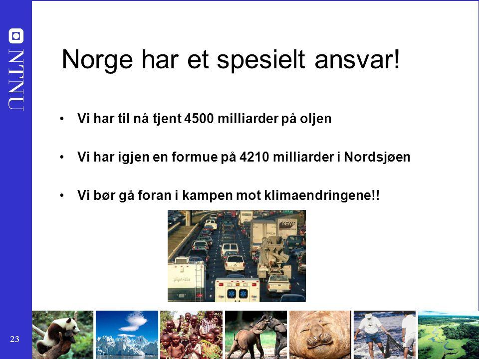 Norge har et spesielt ansvar!