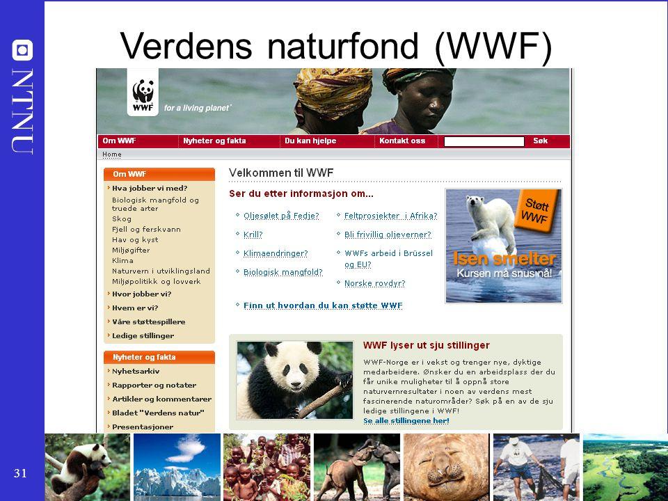 Verdens naturfond (WWF)