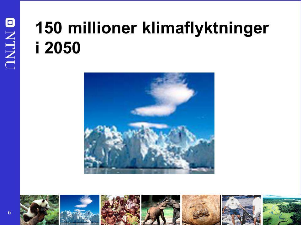 150 millioner klimaflyktninger i 2050