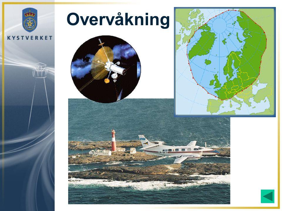 Overvåkning Overvåkning med fly og satellitt er en viktig del av det arbeidet Staten gjennomfører.