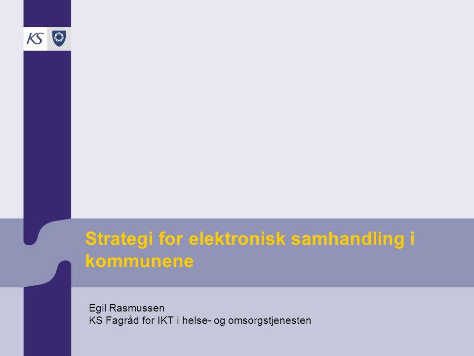 Strategi for elektronisk samhandling i kommunene