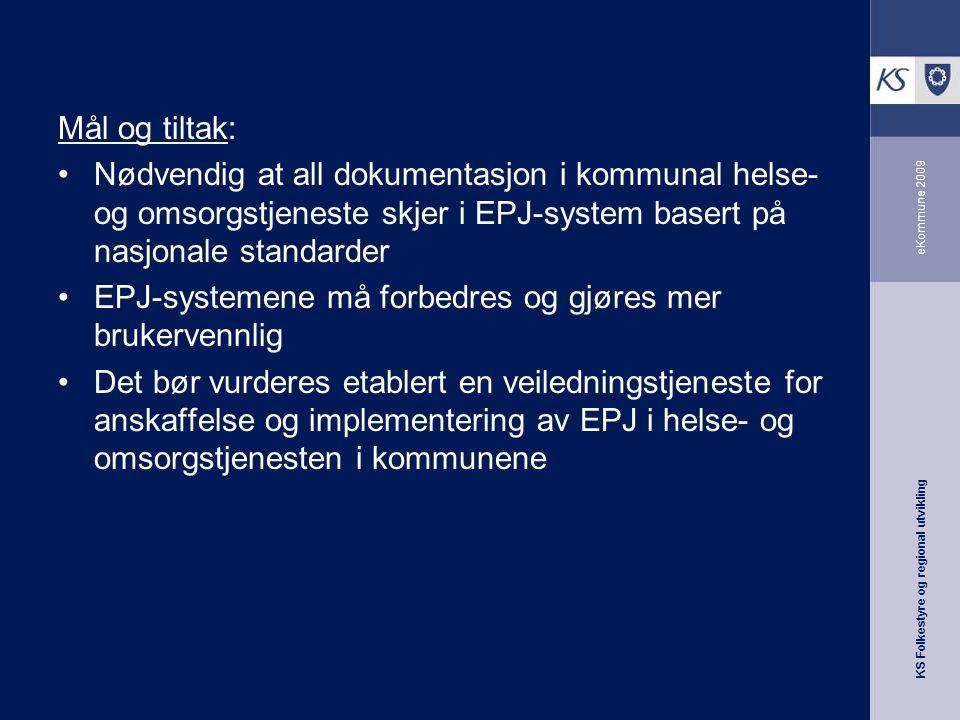 EPJ-systemene må forbedres og gjøres mer brukervennlig