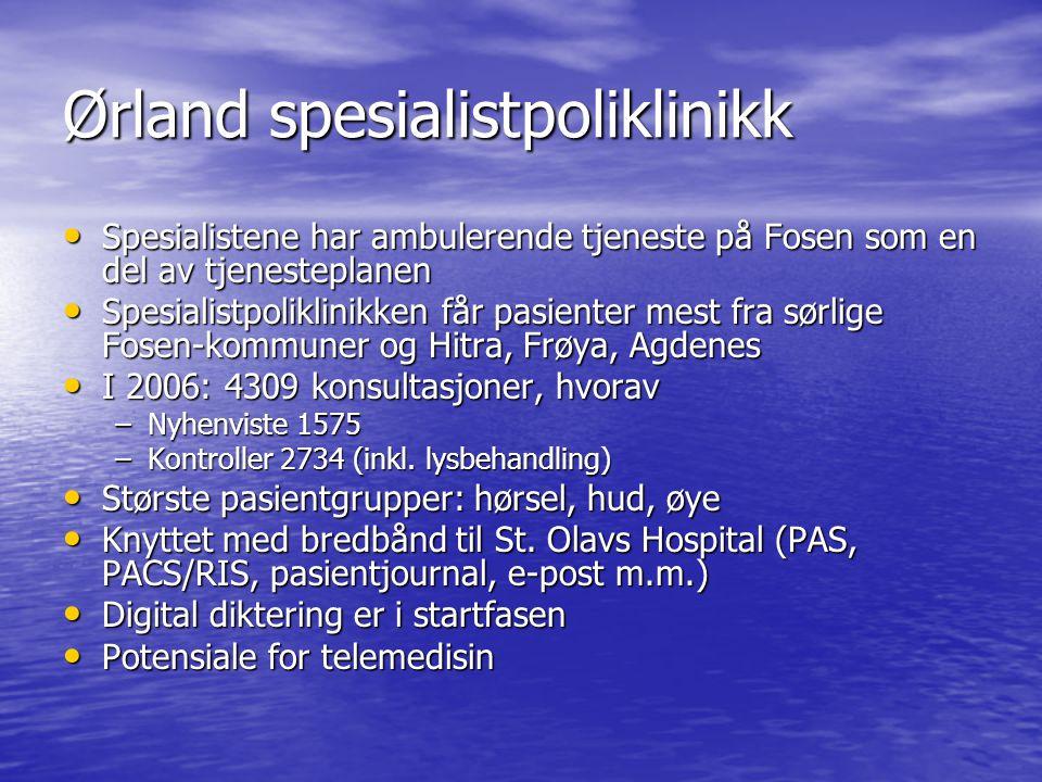Ørland spesialistpoliklinikk