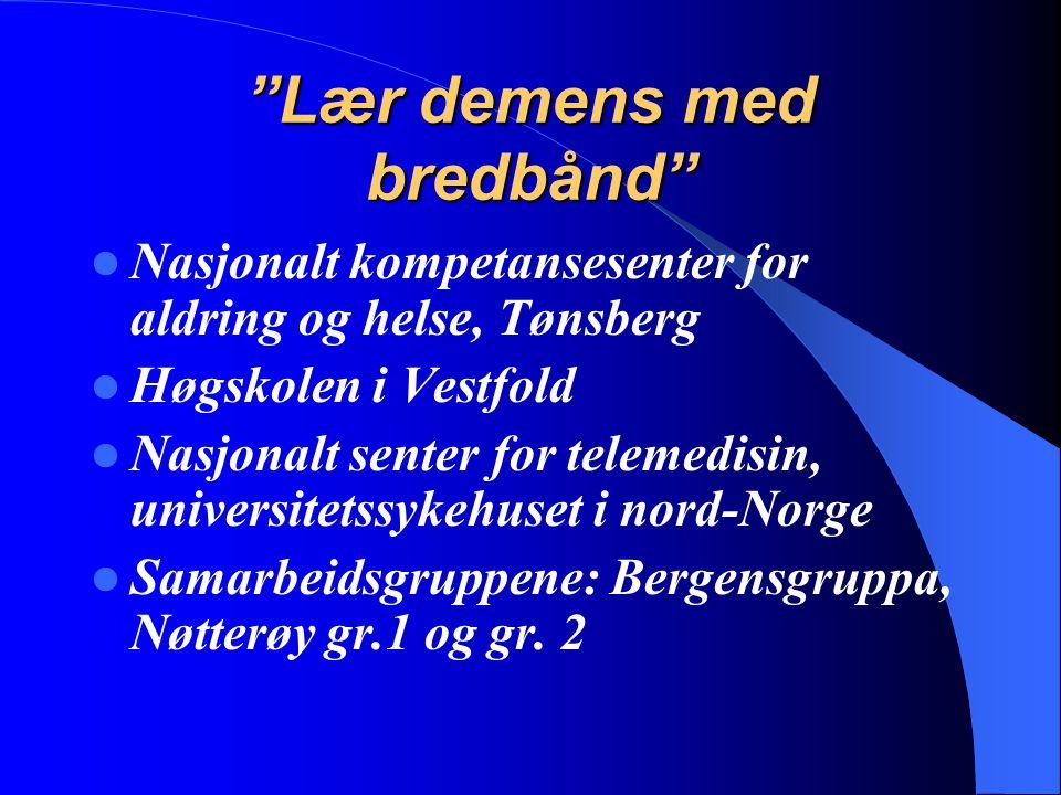 Lær demens med bredbånd