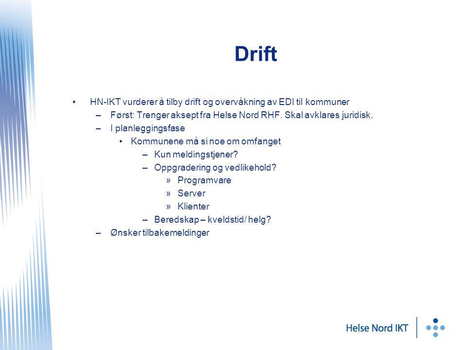 Drift HN-IKT vurderer å tilby drift og overvåkning av EDI til kommuner