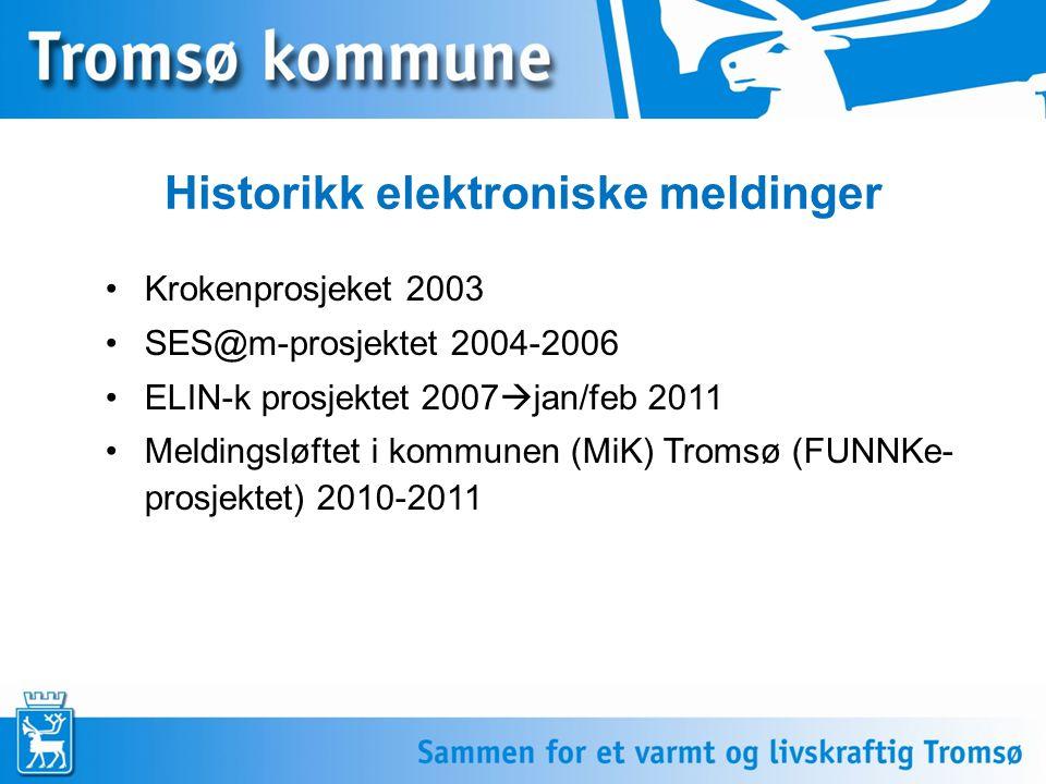 Historikk elektroniske meldinger