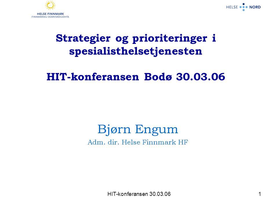 Adm. dir. Helse Finnmark HF